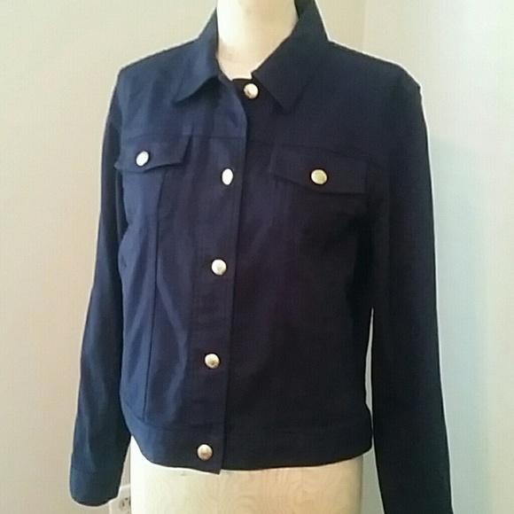 fff8f5aaab Ralph Lauren Deep Blue Denim Jacket. M 5bba184d8ad2f96065475c39